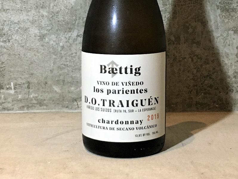 ベティッグ ロス・パリエンテス ヴィーノ・デ・ヴィニエド シャルドネ[2019]Baettig Los parientes Vino de Vinedo Chardonnay19