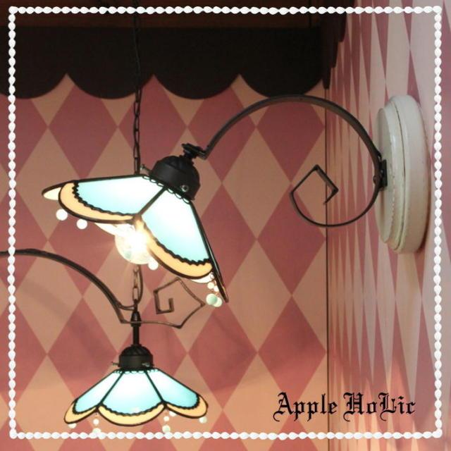 ブラケットランプ 【 アルル Alres 】 ステンドグラス ウォールランプ LED対応