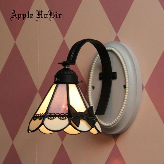 ブラケットランプ 【 クローデット Clawdette 】 ステンドグラス ウォールランプ LED対応