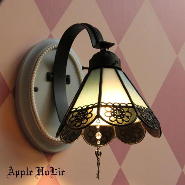 ブラケットランプ 【 クロウリー Crowley 】 ステンドグラス ウォールランプ LED対応