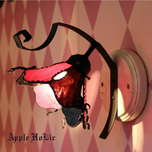 ブラケットランプ 【 エリーゼ Elise 】 ステンドグラス ウォールランプ LED対応