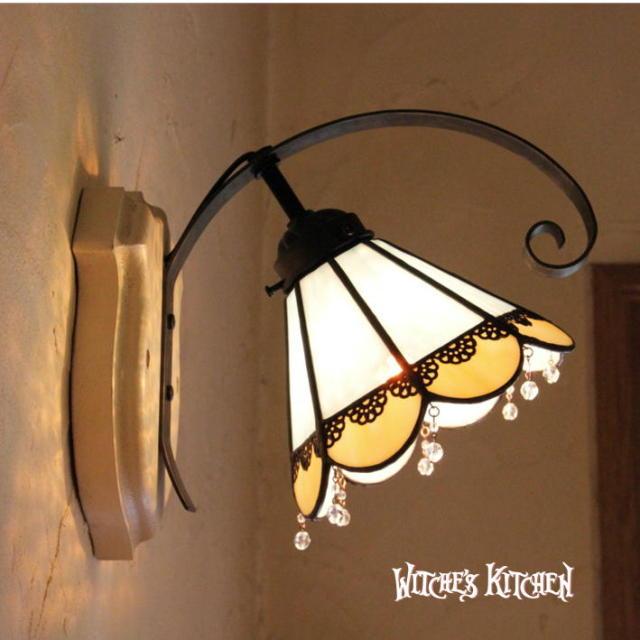 ブラケットランプ 【 ハイネ Heine 】 ステンドグラス ウォールランプ LED対応