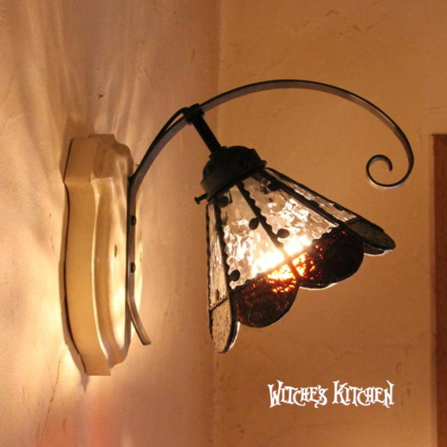 ブラケットランプ 【 ドロッセル Dorossel 】 ステンドグラス ペンダントライト LED対応