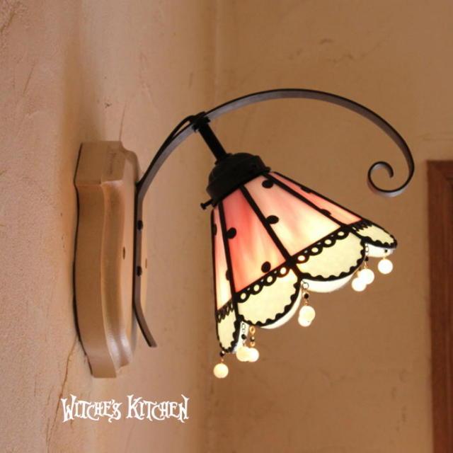 ブラケットランプ 【 メロディ Melody 】 ステンドグラス ウォールランプ LED対応