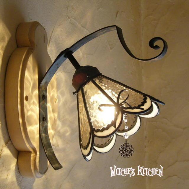 ブラケットランプ 【 ロザリー Rosalie 】 ステンドグラス ウォールランプ LED対応