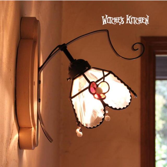ブラケットランプ 【 シャルロット Charlotte 】 ステンドグラス ウォールランプ LED対応
