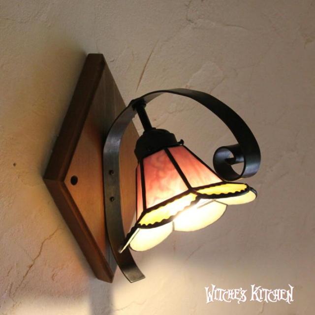 ブラケットランプ 【 シンドリー Sindly 】 ステンドグラス ウォールランプ LED対応