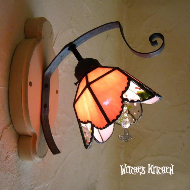 ブラケットランプ 【 マイア Maia 】 ステンドグラス ウォールランプ LED対応