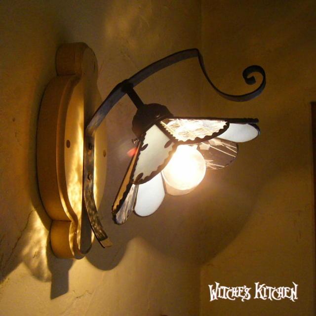 ブラケットランプ 【 クラウディー Cloudy 】 ステンドグラス ウォールランプ LED対応