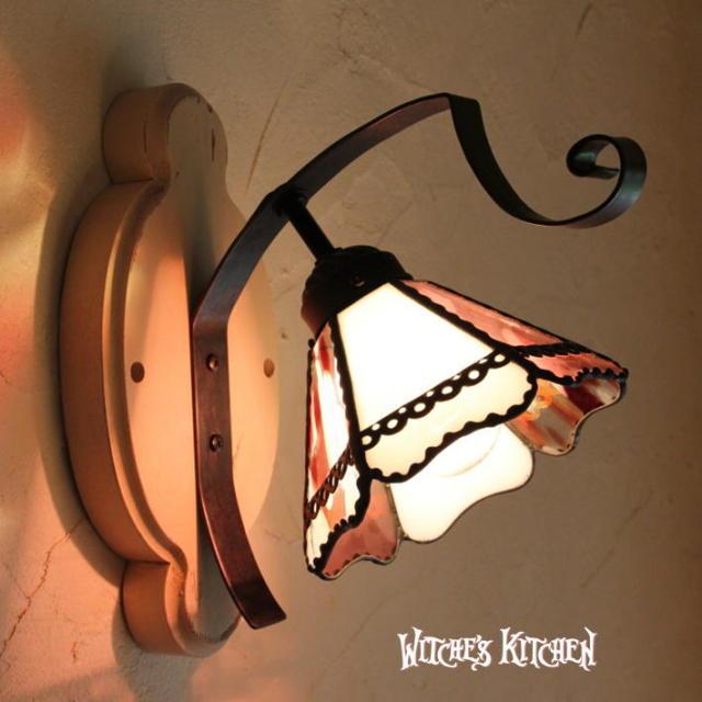 ブラケットランプ 【 ラブポーション Love Potion 】 ステンドグラス ウォールランプ LED対応