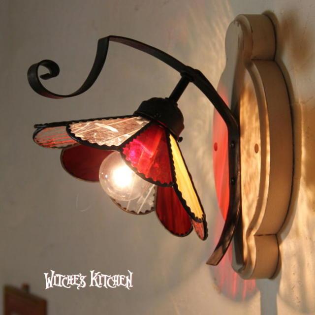 ブラケットランプ 【 マーガレット Marguerite 】 ステンドグラス ウォールランプ LED対応