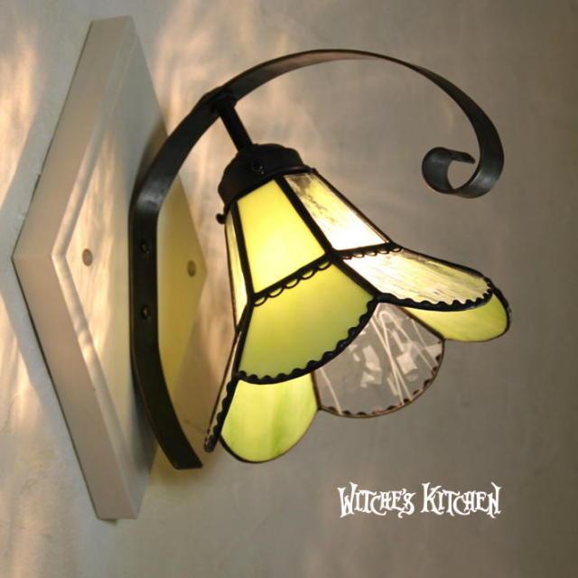 ブラケットランプ 【 ヴィヴィアンGreen Vivian Green 】 ステンドグラス ウォールランプ LED対応