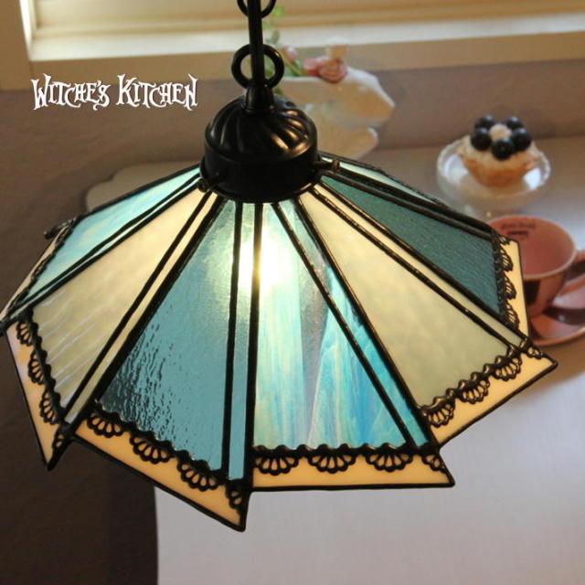 ペンダントランプ 【 マリカ Marica 】 ステンドグラス ペンダントライト LED対応