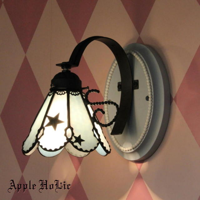 ブラケットランプ 【 キキ Kiki 】 ステンドグラス ウォールランプ LED対応