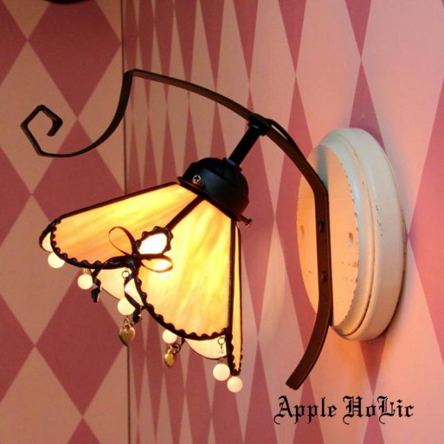 ブラケットランプ 【 モニーク Monique 】 ステンドグラス ウォールランプ LED対応