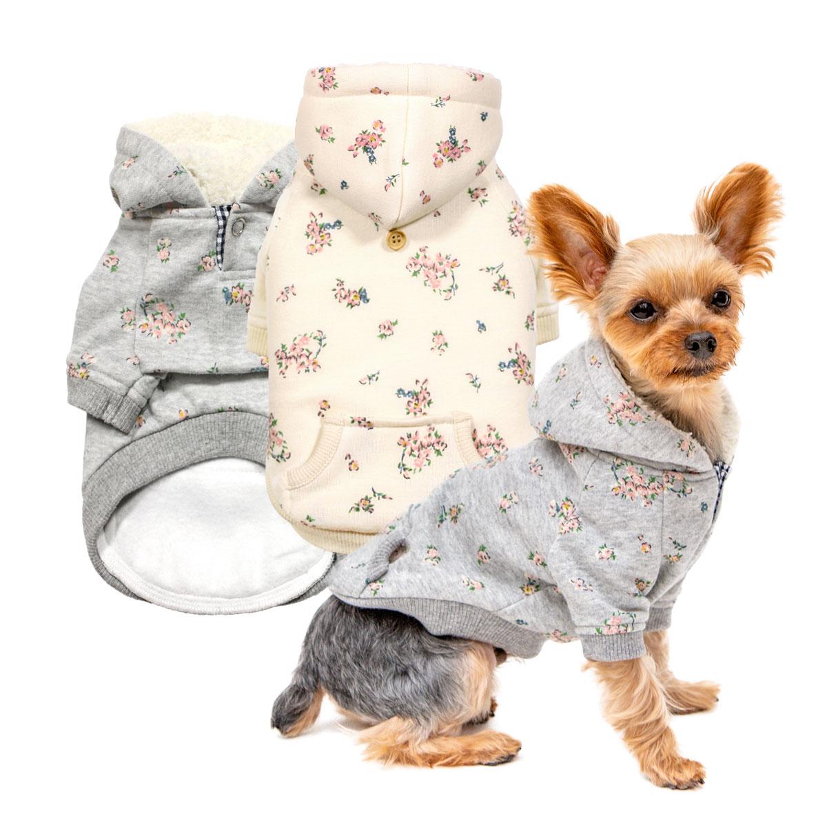 犬と生活 フラワーパーカー
