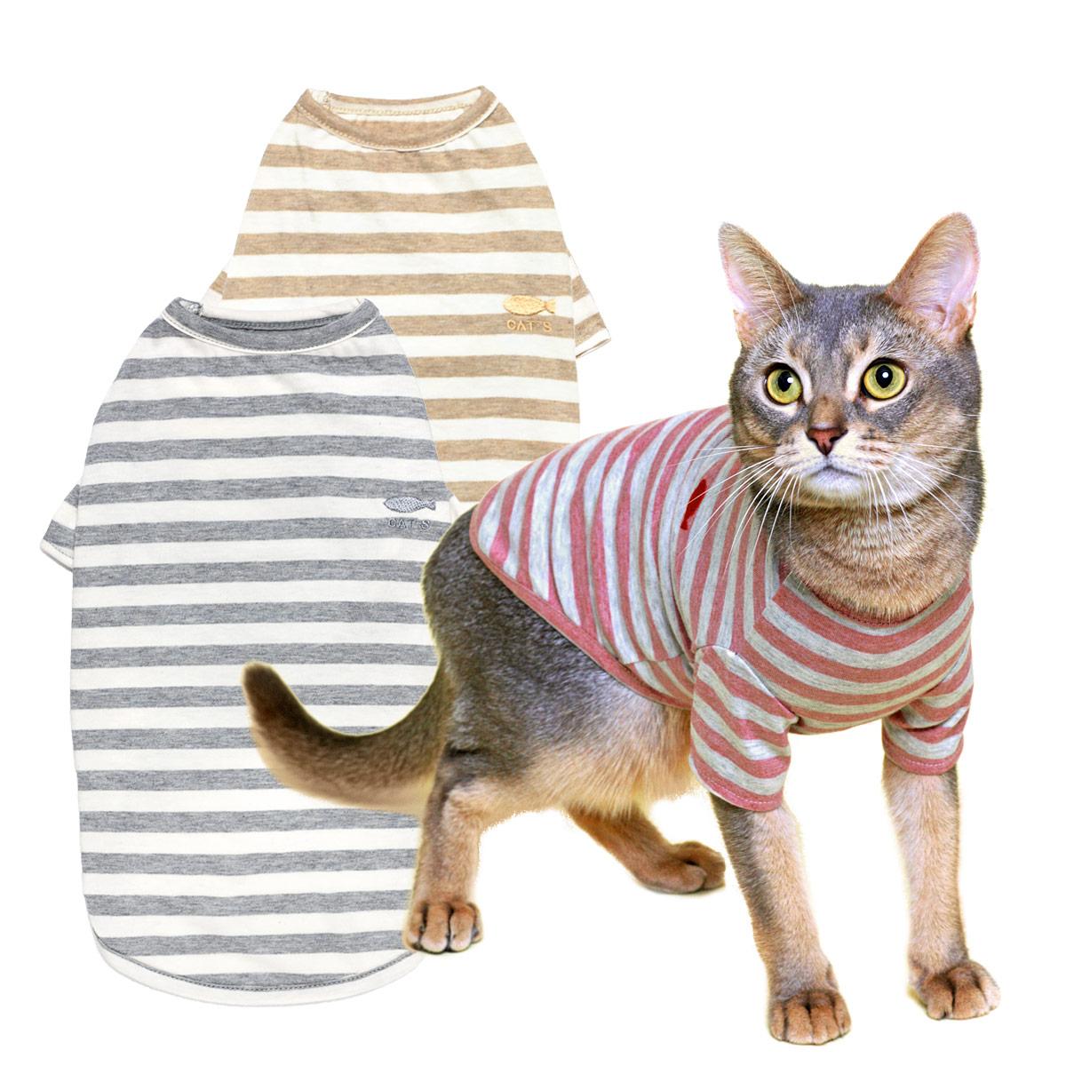 猫の暮らし オーガニックネコTシャツ