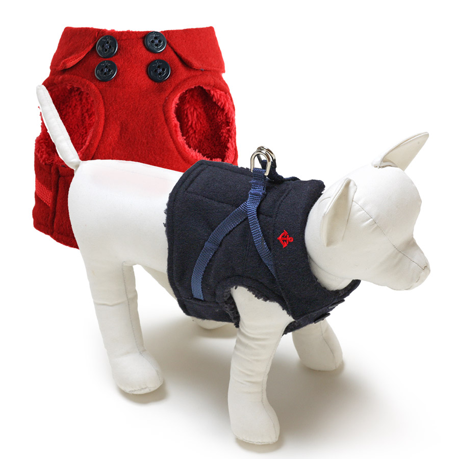 犬と生活 ボディハーネス マリンPコート