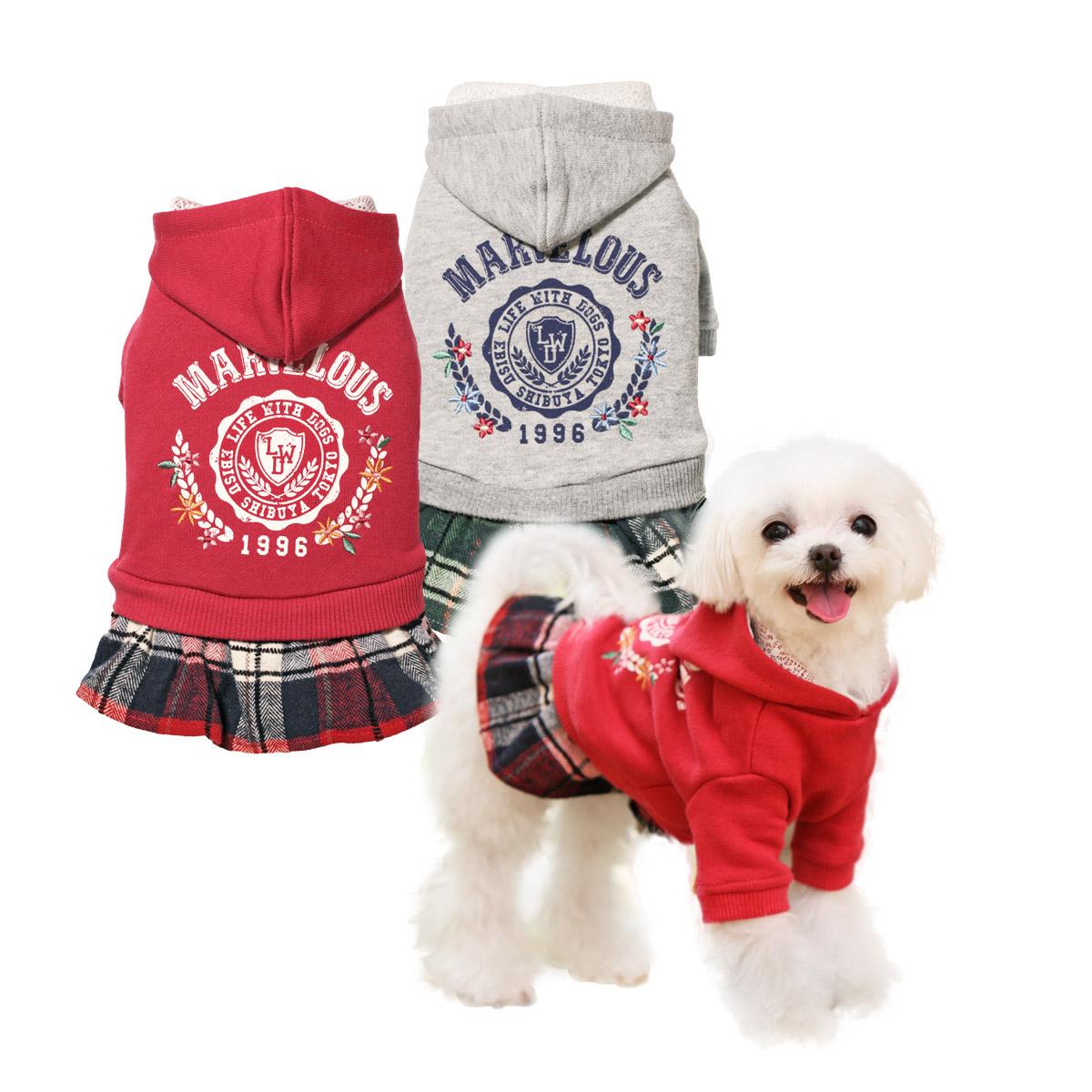 犬と生活 カレッジワンピ