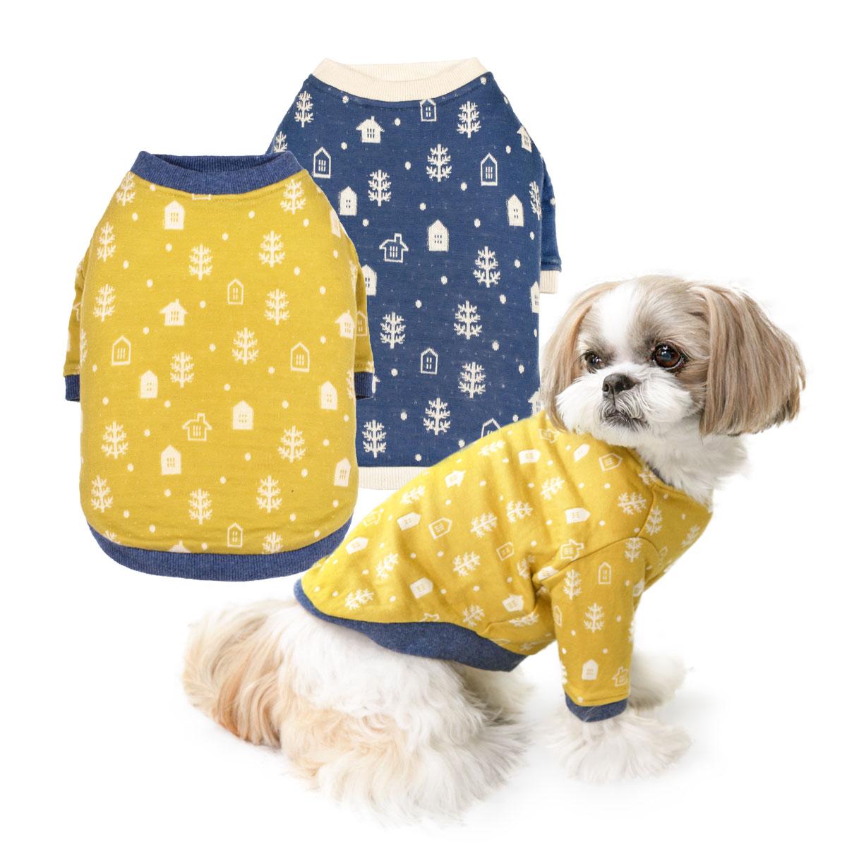 犬と生活 20AW スノウタウンロングTシャツ