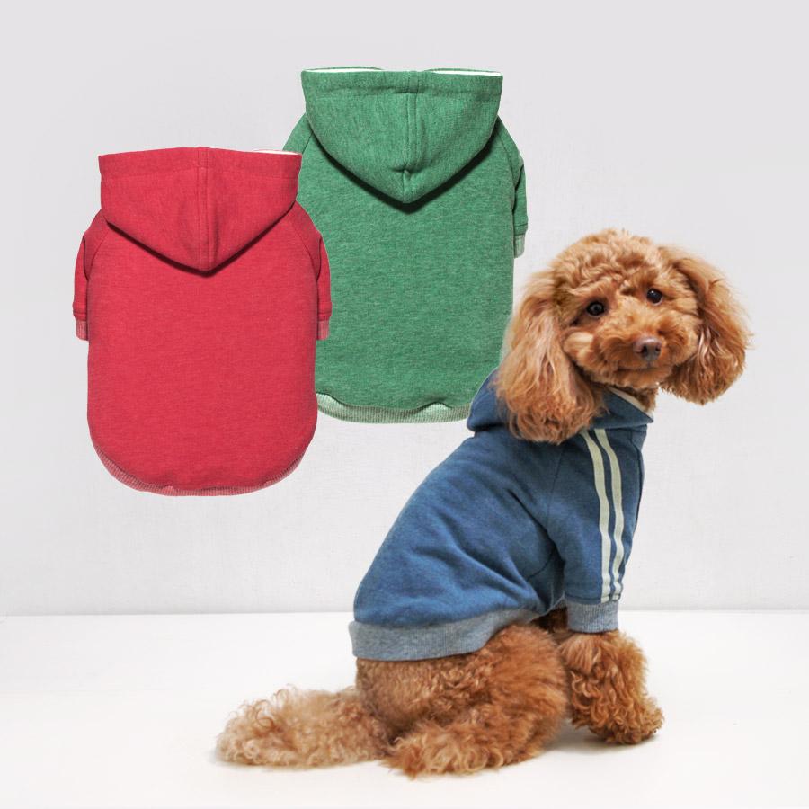 犬と生活 ラインパーカー