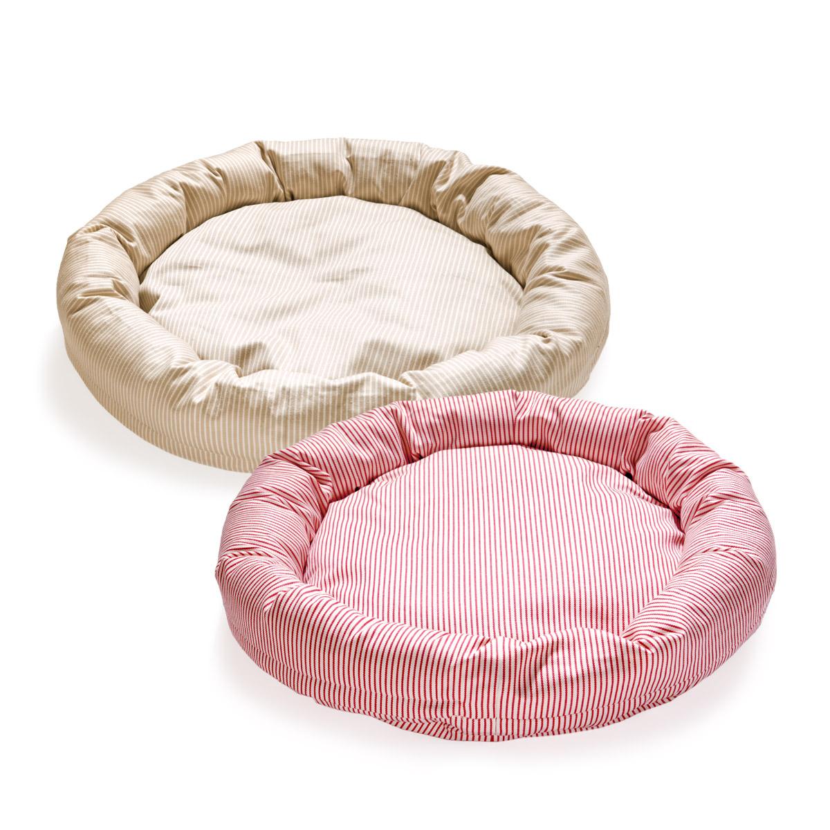 犬と生活 猫の暮らし ロウカドラーヒッコリー|カバーが外して洗えるペット用ベッド