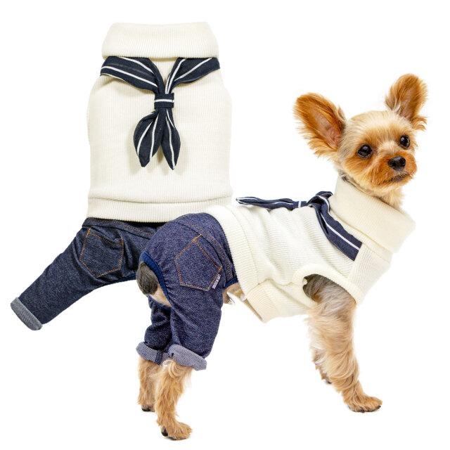 犬と生活 ウィンターマリンパンツ