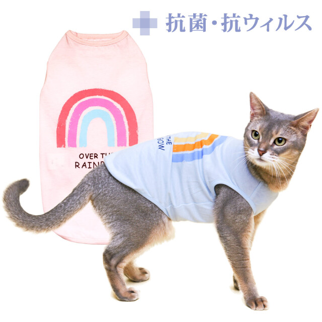 L.W.D. 猫の暮らし クレンゼタンクレインボー キャット