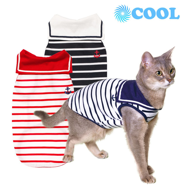 猫の暮らし クールセーラーキャット