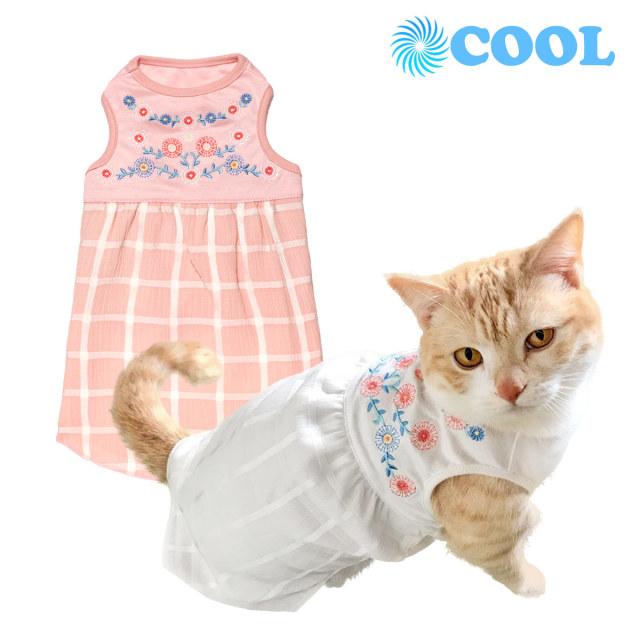 猫の暮らし デイジーワンピースクールキャット