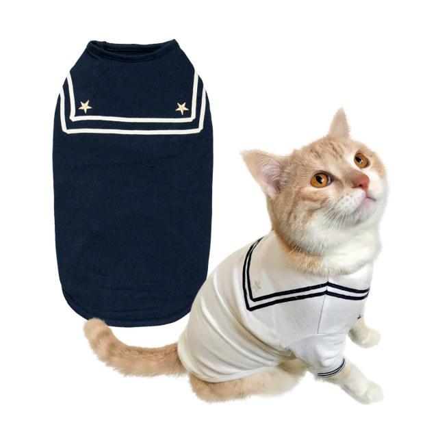 猫の暮らし セーラ-Tシャツキャット