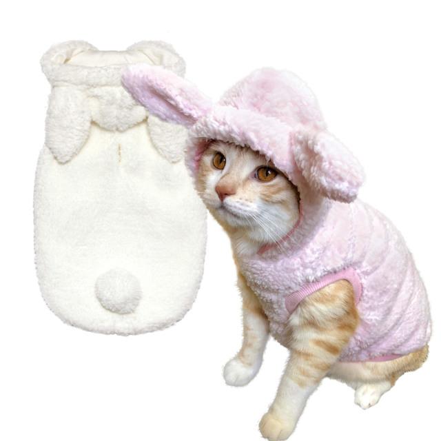 猫の暮らし モハうさパーカーキャット