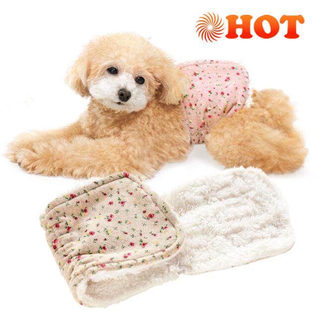 犬と生活 腹巻きプチフラワー