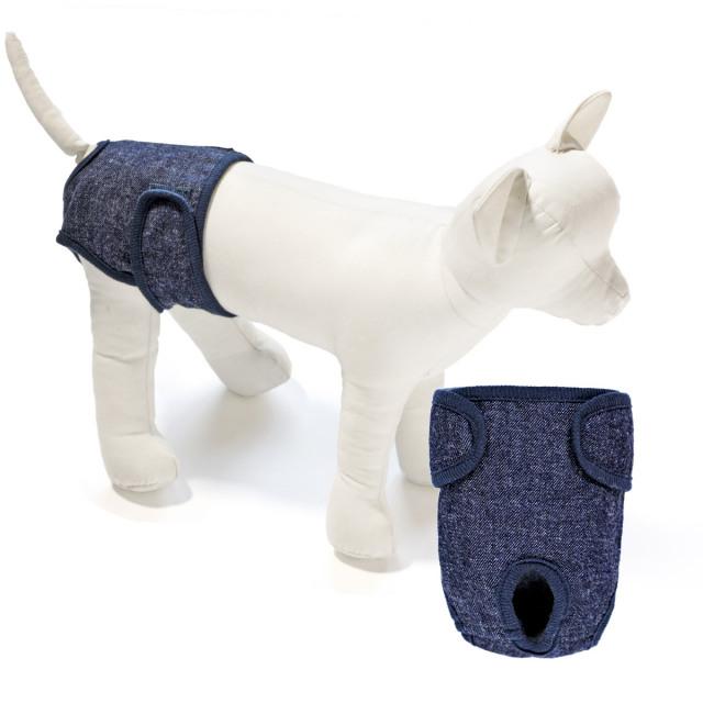 犬と生活 サニタリーパンツデニム