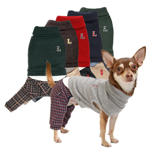 犬と生活 20AW Lシャツパンツ