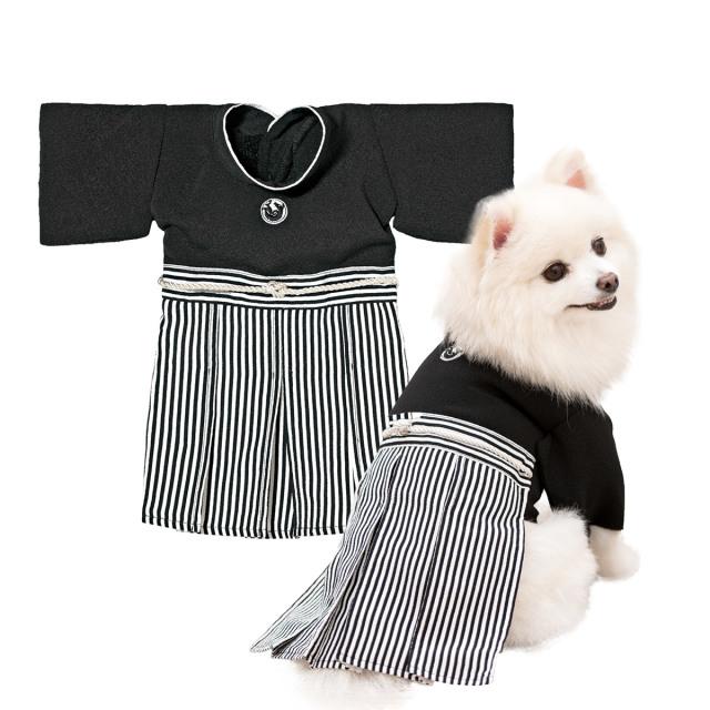犬と生活 紋付袴