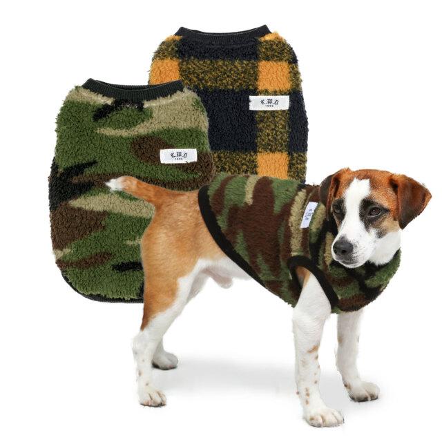 犬と生活 20AW 極暖フリース