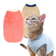 ネコの暮らし ボアフリースベスト