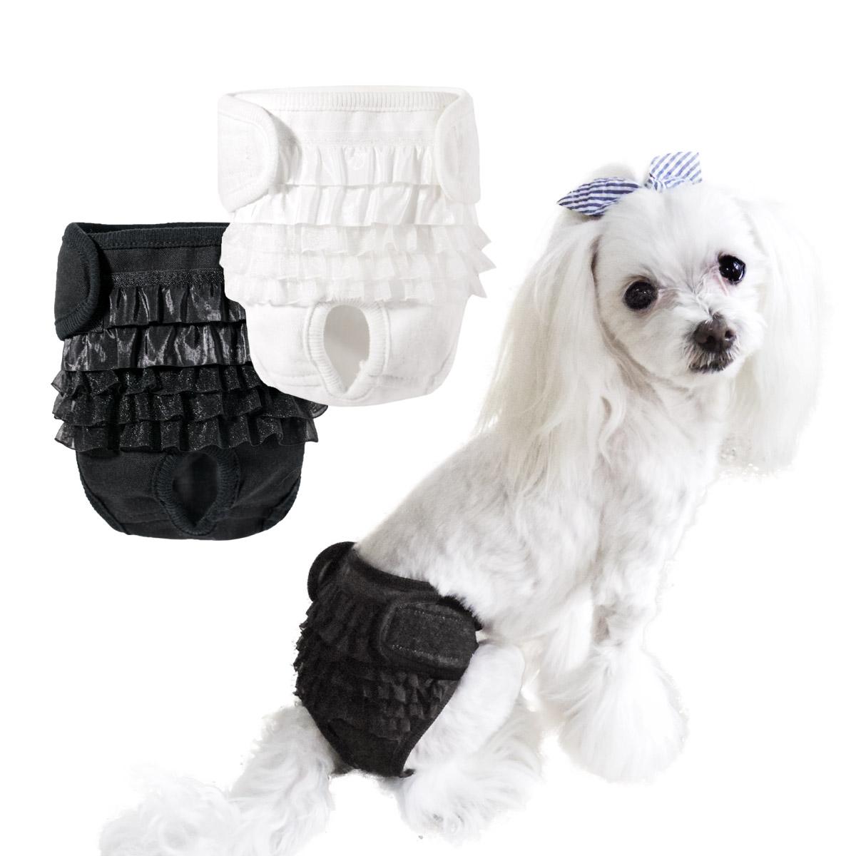 犬と生活 シフォンフリル