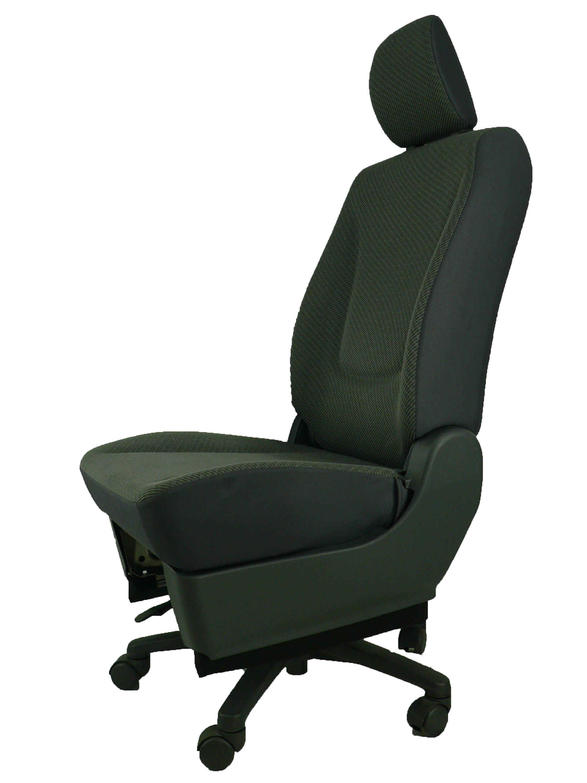 スズキ ワゴンR★自動車シートがリクライニングチェアー(デスクチェア)に、環境と健康に優しい椅子。