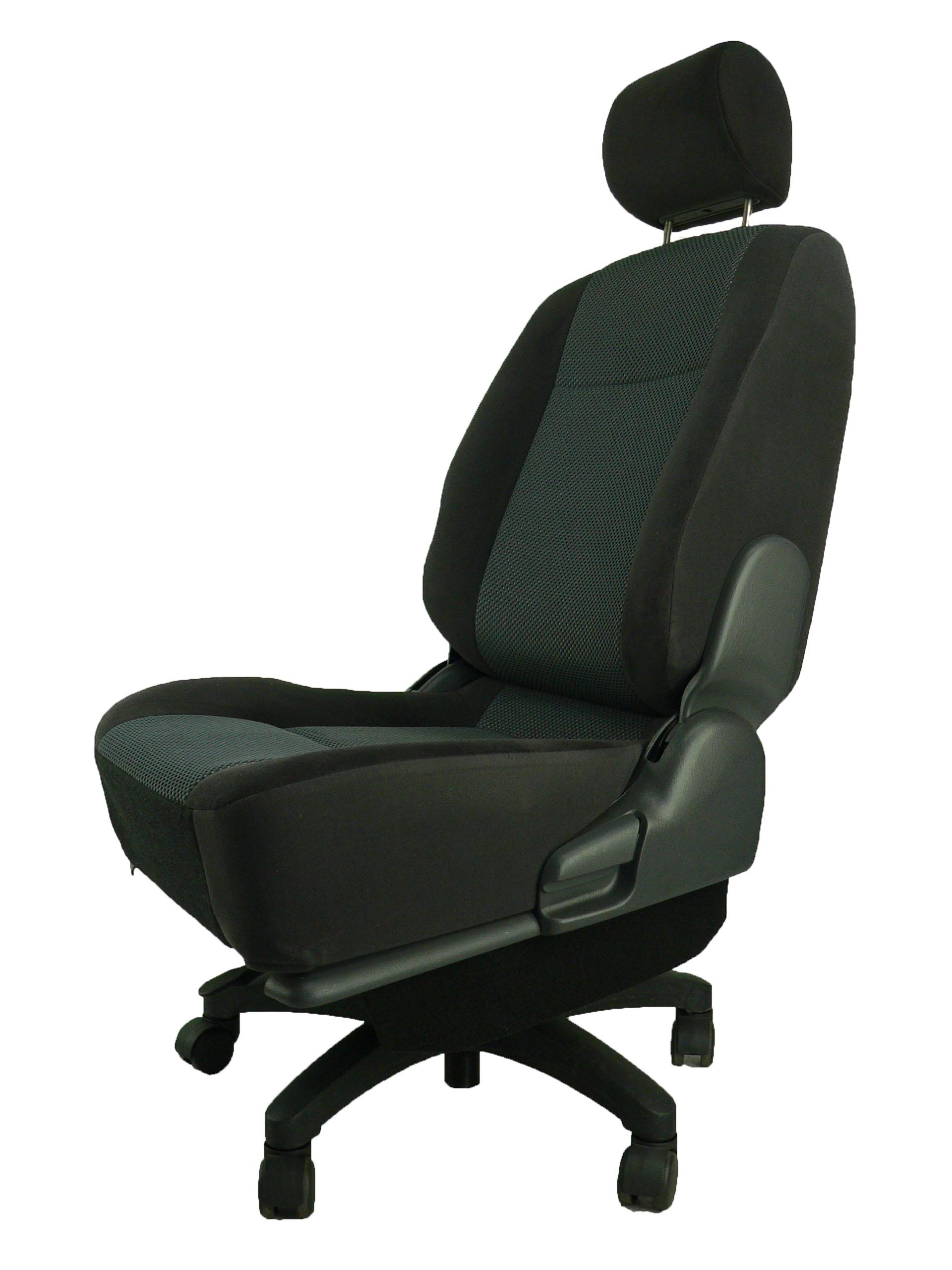日産プレサージュ VU30★自動車シートがリクライニングチェアー(デスクチェア)に、環境と健康に優しい椅子。パソコン作業に。