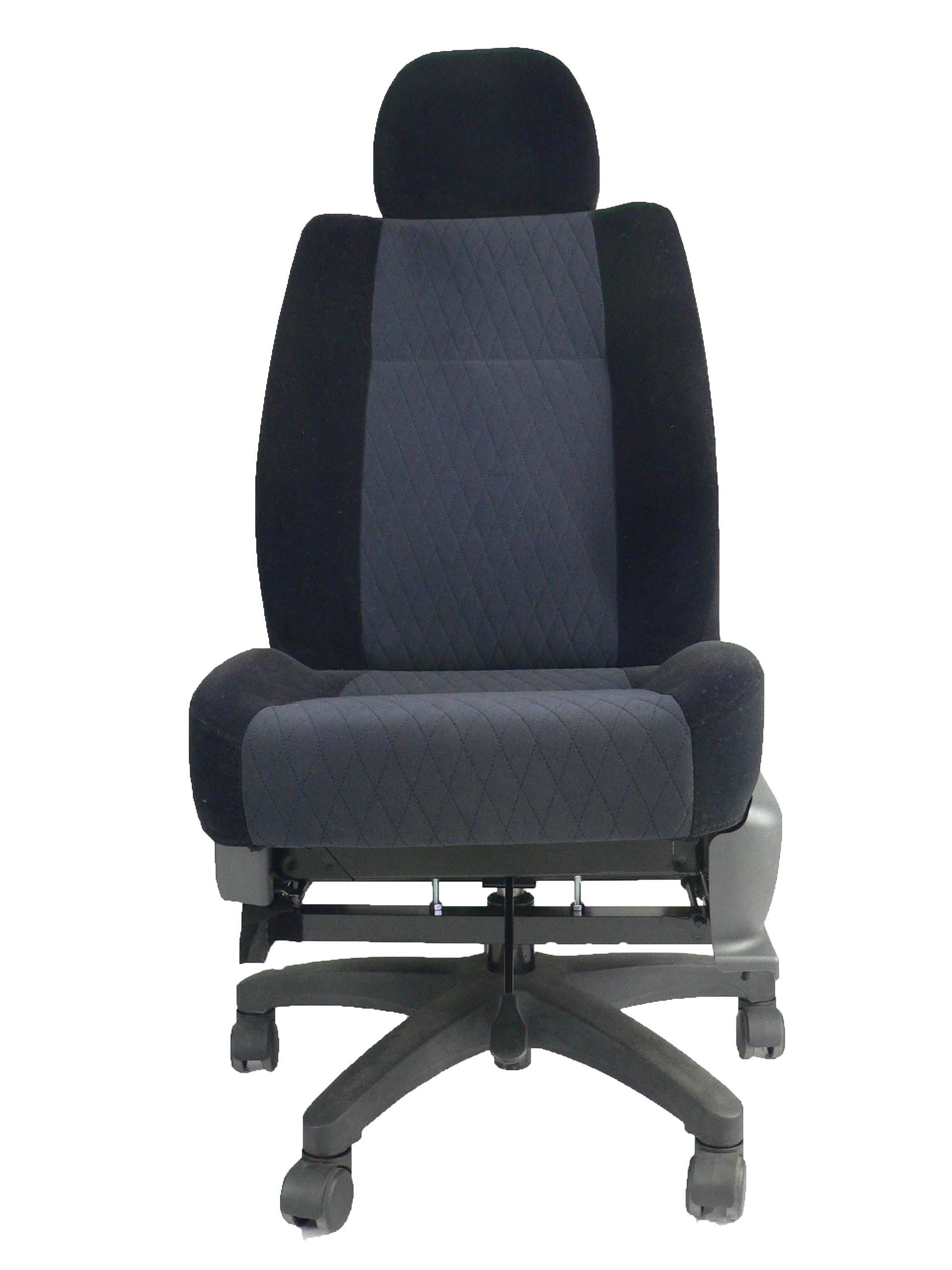 スバル プレオ RA2★自動車シートがリクライニングチェアー(デスクチェア)に、環境と健康に優しい椅子。