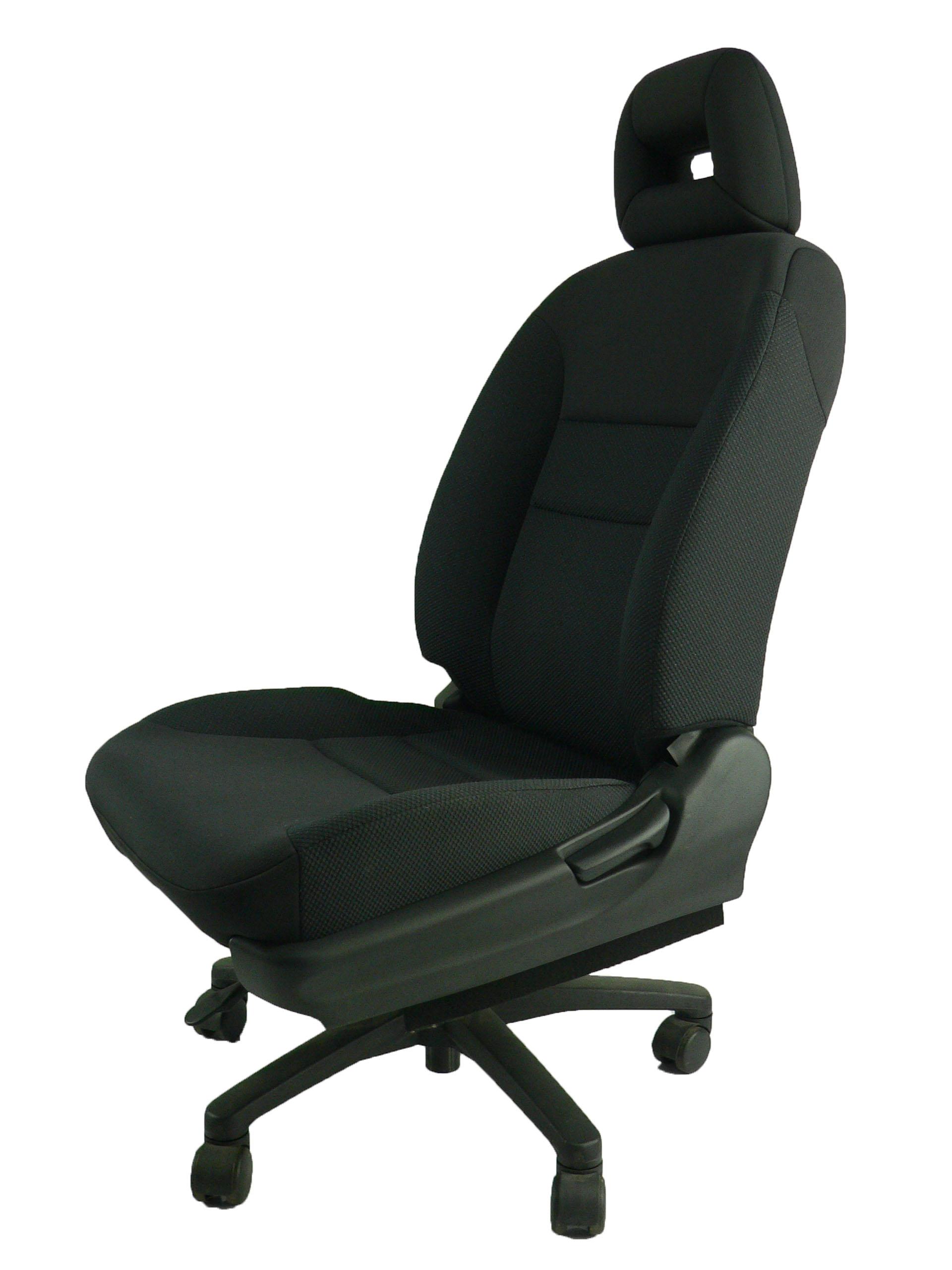 ホンダエアウェイブ★自動車シートがリクライニングチェアー(デスクチェア)に、環境と健康に優しい椅子。座面低め。