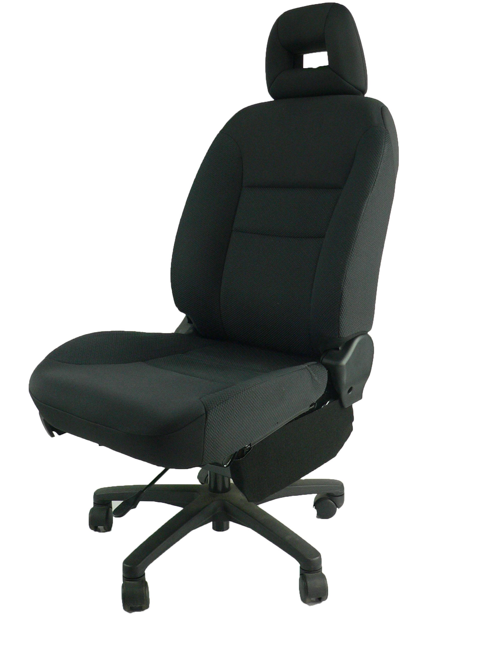 ホンダエアウェイブ GJ1 ★自動車シートがリクライニングチェアー(デスクチェア)に、環境と健康に優しい椅子。