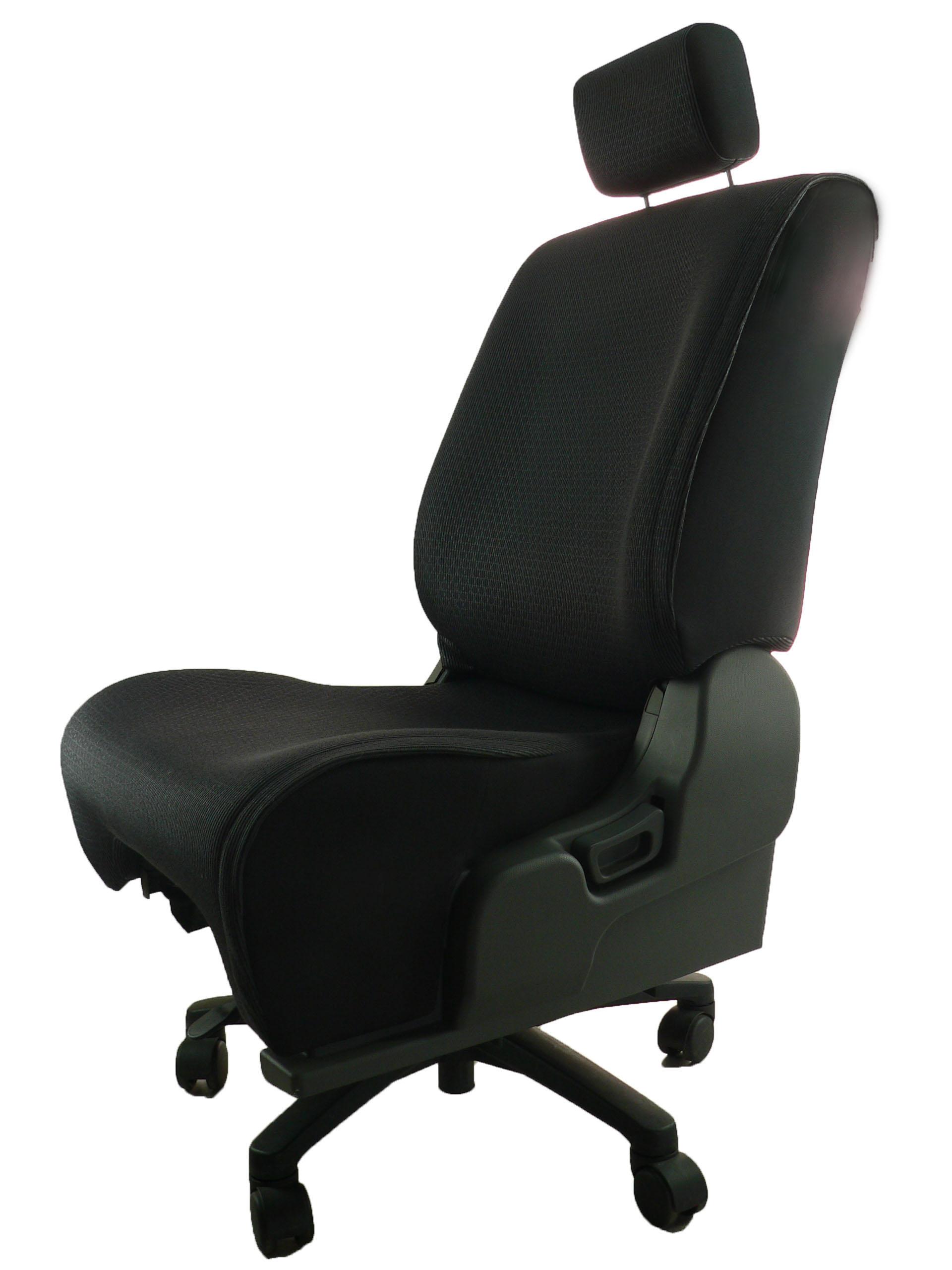 日産 キューブ YZ11★自動車シートがリクライニングチェアー(デスクチェア)に、環境と健康に優しい椅子。