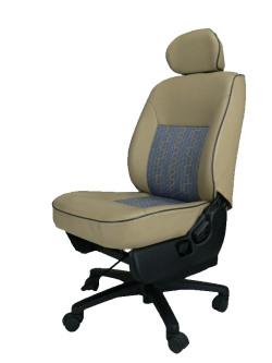 三菱トッポ H31A★自動車シートがリクライニングチェアー(デスクチェア)に、環境と健康に優しい椅子。パソコン作業に最適