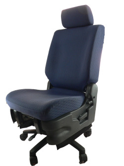 スズキ MRワゴン MF21S★自動車シートがリクライニングチェアー(デスクチェア)に、環境と健康に優しい椅子。