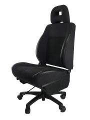 フォレスター SF5★自動車シートがリクライニングチェアー(デスクチェア)に、環境と健康に優しい椅子。パソコン作業に最適