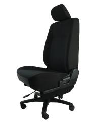三菱 ランサーワゴンCS2W★自動車シートがリクライニングチェアー(デスクチェア)に、環境と健康に優しい椅子。パソコン作業に最適