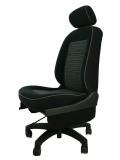 ダイハツ ミラL700S★自動車シートがリクライニングチェアー(デスクチェア)に、環境と健康に優しい椅子。パソコン作業に。美品です。